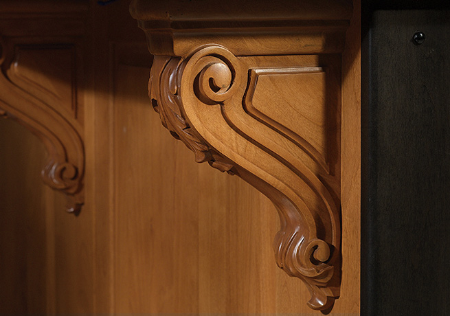 Corbel Acanthus Narrow