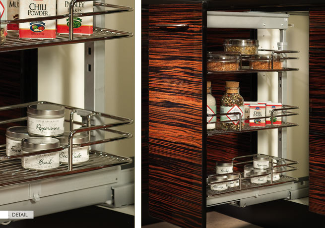 Metal Base Pull-out Shelf