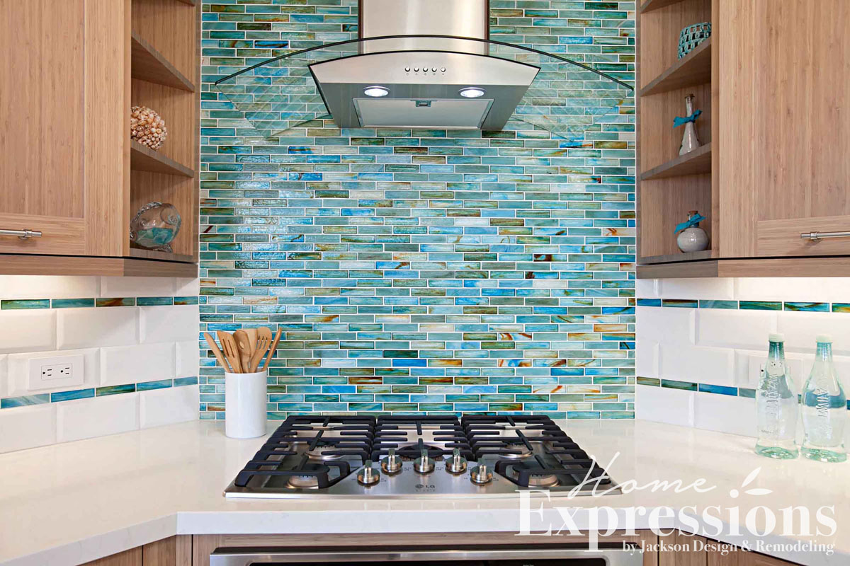 Beachside Blue Kitchen Remodel in Sorrento Valley | Home Expressions ...