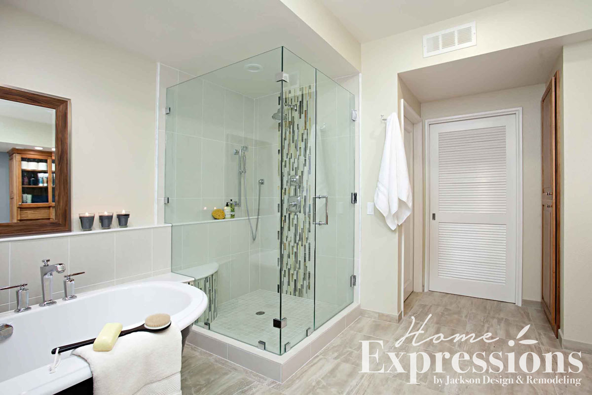 Serene Hideaway Bathroom Remodel in Coronado | Home Expressions by ...